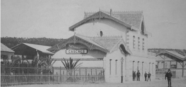 The first train station!