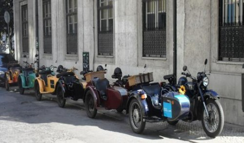Sidecar Tours, Lisbon, Sintra and Evora