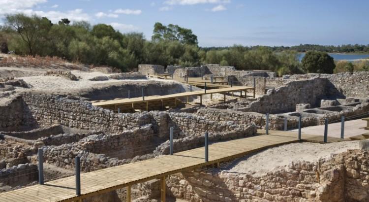 The Roman Ruins of Troia in Setúbal Region