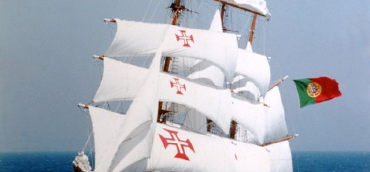 Sagres Portuguese Navy training ship