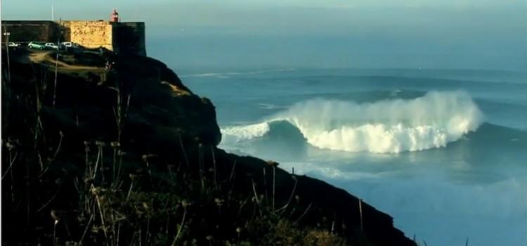 Nazaré Canyon, Surfing a Giant Wave