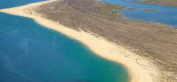 Desert Island or Barreta Beach in Algarve