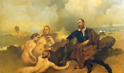 Tágides or the Tagus Nymphs