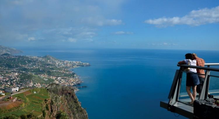 Cape Girão in Madeira Island